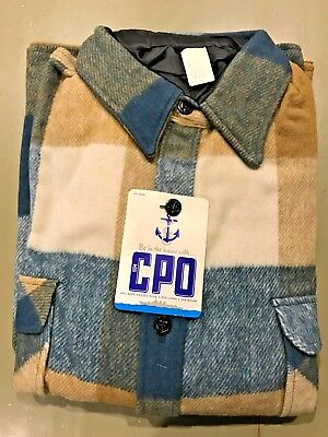 Vintage Cpo Shirt  New Old Stock Still In Package (Extra Large)