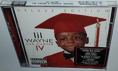 Lil Wayne The Carter Iv (Deluxe Edition) (2011) Brand New Sealed Cd Bruno Mars