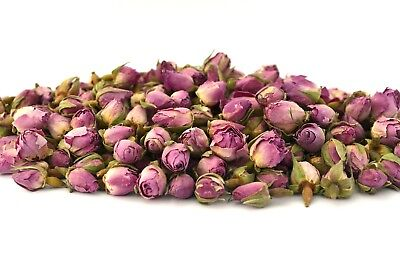 Pink Rose Buds, Dried Flowers, Craft, Tea, Potpourri Soap Candle Decor 5g - 250g
