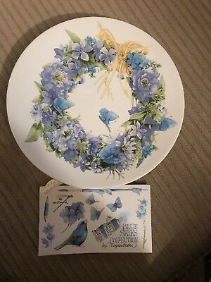 Hallmark 1995 Blue Skies Collection by Marjolein Bastin Plate