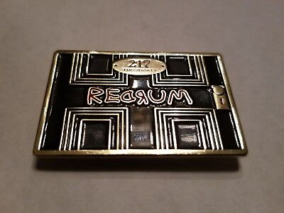 NEW! The Shining Stanley Hotel Room 217 Magnet Stephen King Horror Redrum