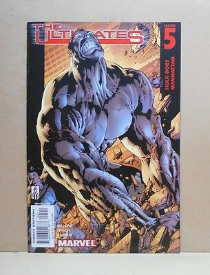 THE ULTIMATES Vol.1 #5 7/02 Marvel 9.0 VF/NM- Uncertified 1st Print MILLAR/Hitch