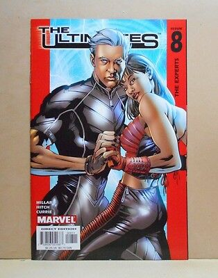 THE ULTIMATES Vol.1 #8 11/02 Marvel 9.0 VF/NM- Uncertified 1st Print Millar
