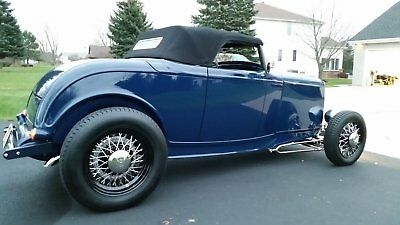 1932 Ford Roadster Leather Interior 1932 Ford Roadster / Streetrod / Hot Rod