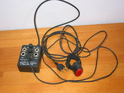 Pa-200Ic ! Portable 2 Place Pilot Aviation Intercom With Ptt Button ! Pa 200 Ic