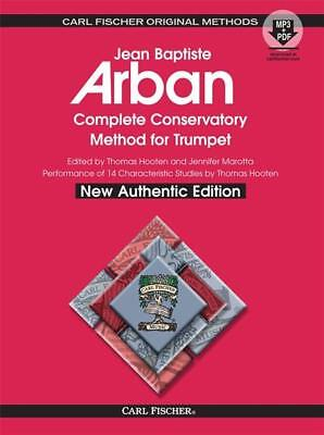 Arban's O21XSB Complete Conservatory Method for Trumpet Book w/ MP3