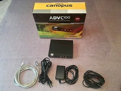 Canopus ADVC-100 A/D Converter - Lightly Used Working