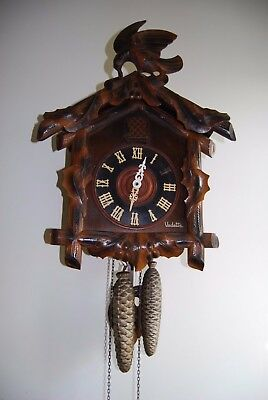 large french cuckoo clock working