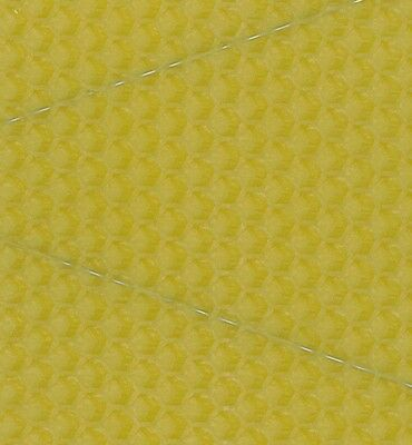 B.S National/WBC Size Hive Wired Brood Beeswax Foundations Sheets,pack of 10