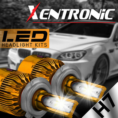 XENTRONIC LED HID Headlight kit H7 6000K for Audi A4 Quattro 1996-2014