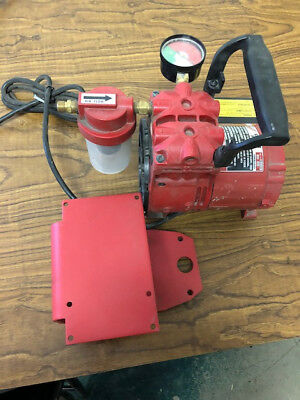 Milwaukee 49-50-0200 Dymo Core Drill Rig Vacuum Pump Assembly 2.7 amps 120 volt