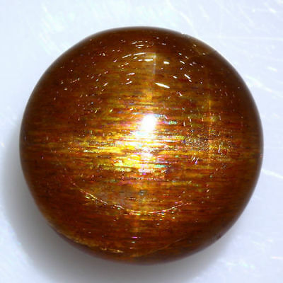 RARE! 16.780 Cts 100% NATURAL UNTREATED UNHEATED GOLDEN RED SUNSTONE STAR