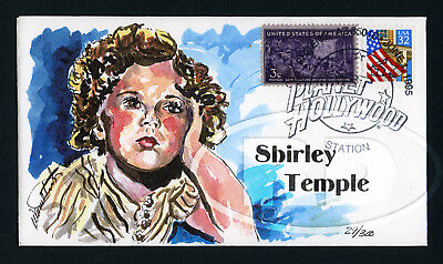 1995 Shirley Temple Wild Horse Cachets Cover Planet Hollywood Postmark 29/300