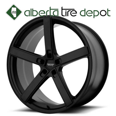 "1x Canada 19"" American Racing AR920 Satin Black 20"" 22"" Wheel Tire package"