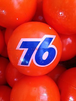 UNOCAL 76 New Antenna Balls Classic Orange lot of 50