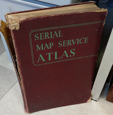 Serial Map Service Atlas Based on Philips' Edited by Philip & Goodall 1940