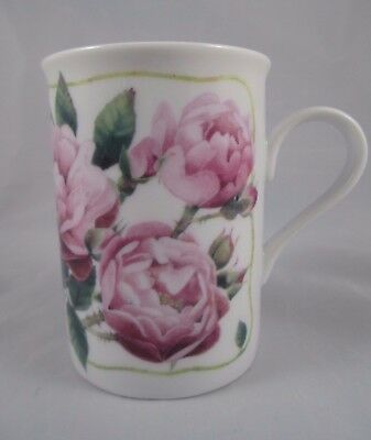 1997 Marjolein Bastin Coffee Tea Mug Cup Avon Floral Collection ROSES EUC