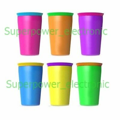 Wow Cup Kids No Spill Drinking Cup, Toddler Spill Free 360 Sippy Cup