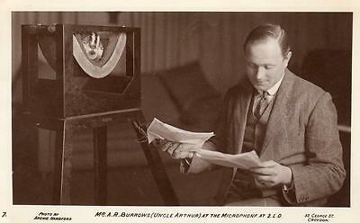 Mr A R Burrows Uncle Arthur Broadcaster Radio BBC unused RP pc Archie Handford