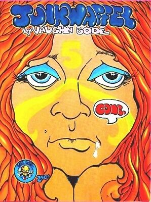 Junkwaffel  #5  1973 Vaughn Bodé  Only Printing  36 Pages Underground Comics
