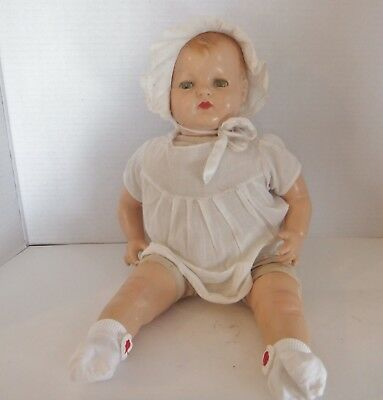 1930's Effanbee Sugar Baby composition doll and clothes