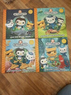 Octonauts Series Collection 4 Books Set.