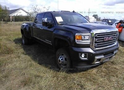 2015 GMC Sierra 3500 DENALI HD 2015 GMC SIERRA DENALI HD FOR SALE DUALLY TURBO DIESEL