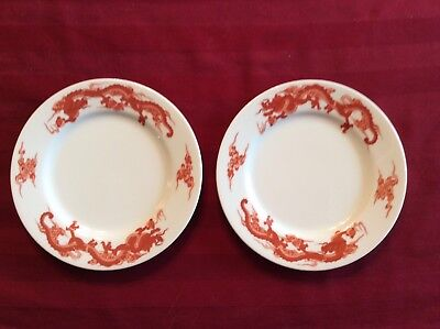 2 Fukagama for Tiffany & Co. bread and butter plates