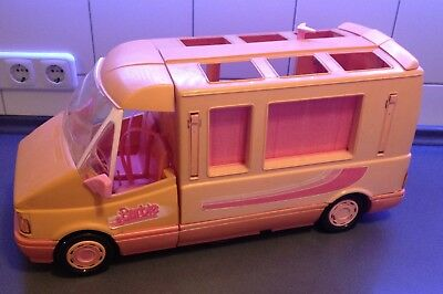 barbie magic van mattel 1988 caravan camper selten sammler. Black Bedroom Furniture Sets. Home Design Ideas