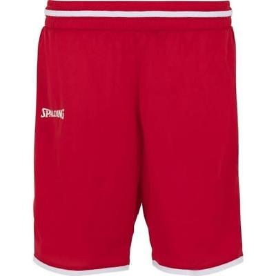 Spalding Move Short Femme - Rouge/blanc, Taille: S = 16