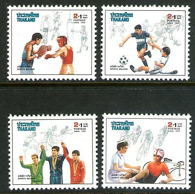 Thailand 1989 Sports Welfare set of 4 Mint Unhinged