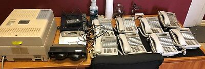 Panasonic Phone System KX-TVA50 Voice Mail, VB-4430 System, Hold Plus 6000 MORE+