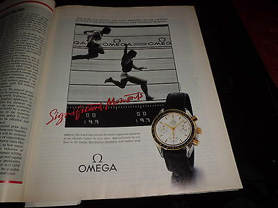 Omega  advert  Werbung Fortune  1990 June