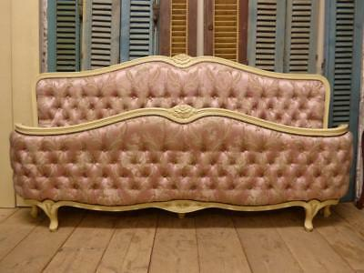 VERY RARE VINTAGE FRENCH SUPER KING SIZE BED - tdd1