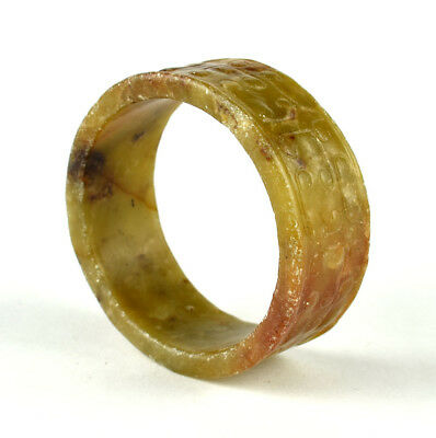 Late Neolithic Or Early Shang Dynasty Jade Ring / Bracelet