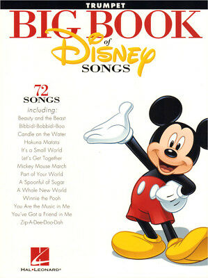 Big Book of Disney Songs 72 Titel Noten für Trompete Trumpet