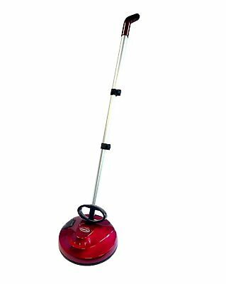 Handheld Cordless Duster Buffer Floor Polisher - Rechargeable - Upright - Red