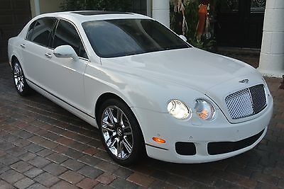 2010 Bentley Continental Flying Spur  2010 Bentley Continental Flying Spur 25,000 Miles , Florida , White/Cream
