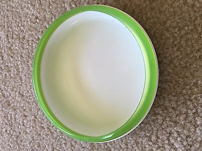 Oxo Tot Green/White Training Plate with Removable Ring
