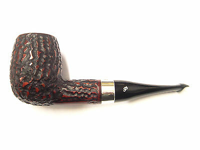 Peterson House Pipe Billiard Rustic P-Lip with FREE pipe Tool