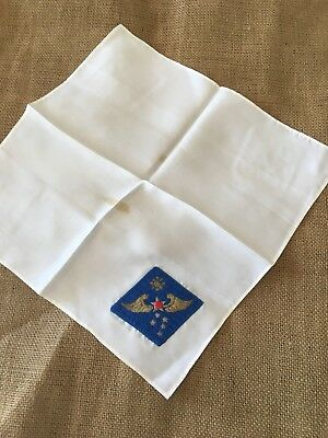 Occupation Embroidered Far East Air Force Patch Handkerchief And 1st Air Div Lot