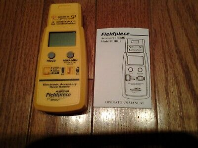 Fieldpiece EHDL1 Electronic Accessory Head Handle  New!