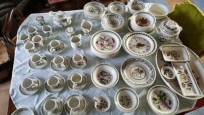 Portmeirion China Bulk lot of Botanic Garden (hearts & flowers/variations)