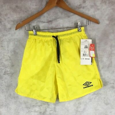 Vintage 1995 UMBRO Red Soccer Shorts - Youth Size Medium M NEW WITH TAGS