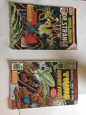 Marvel Premiere Marvel Comic Vol 1 No 14 March 1974 In Good Condition Dr. Strang