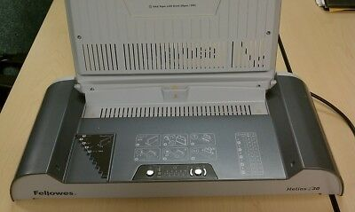 FELLOWES HELIOS 30 THERMAL BINDER with 60 COVERS INCLUDED