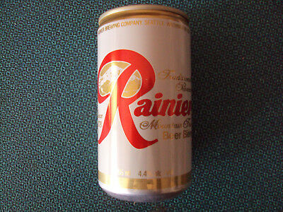 Rainier Mountain Fresh Beer Biere Can,Set of 2 Collectible Cans, Breweriana