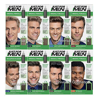 Just For Men Hair Colour Original Formula Shampoo-in Mens Hair Dye