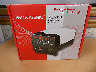 PHOTOGENIC ION Lithium-ion Powered Pure Sine Wave Inverter #956055 FREE SHIP!