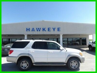 2004 Toyota Sequoia SR5 2004 SR5 Used 4.7L V8 32V Automatic 4WD